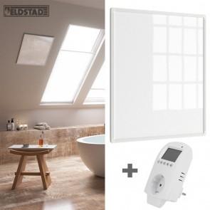 Eldstad 300 Watt Infrarotheizung + Thermostat Elektro Heizpaneel
