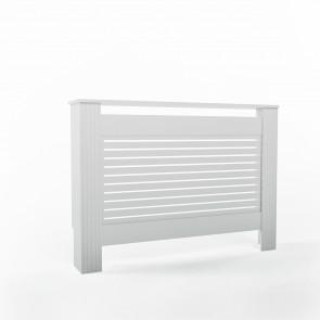 VICCO Heizkörperverkleidung Landhaus II 112 cm Weiß