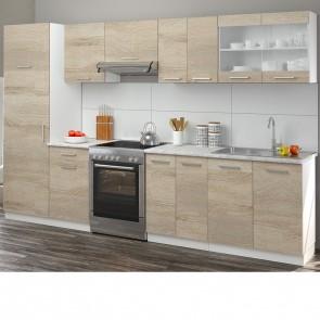 Küchenzeile 310cm Sonoma Eiche R-Line