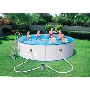 Bestway Hydrium Pool Set 360x90 Stahlwandpool rund Kartuschenfilteranlage Leiter