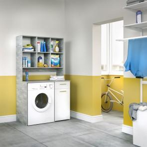 Waschmaschinenschrank XXL Beton