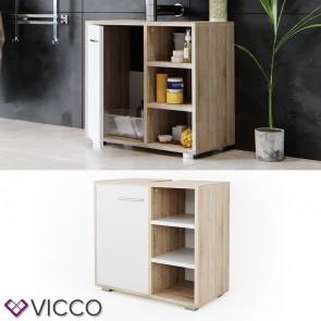 VICCO Waschtischunterschrank Perry weiß sonoma
