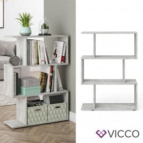 VICCO Raumteiler LEVIO klein Beton Optik