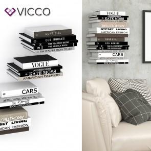 VICCO unsichtbares Bücherregal GHOST