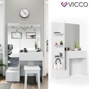 VICCO Schminktisch GLORIA mit LED - Beleuchtung
