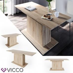 Vicco Esstisch Reno II Eiche Sonoma Esszimmertisch ausziehbar Wohnzimmer Küchentisch