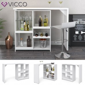 VICCO Bartisch VEGA weiß