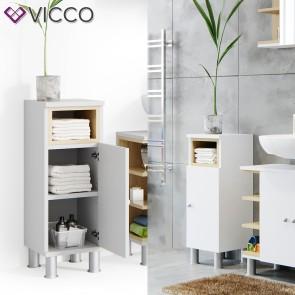 VICCO Midischrank AQUIS Weiß