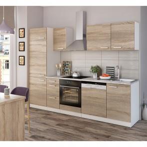 Küchenzeile Optima 270 cm Sonoma