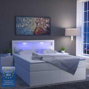 Boxspring bett weiß 180x200  Boxspringbetten - Betten - Möbel