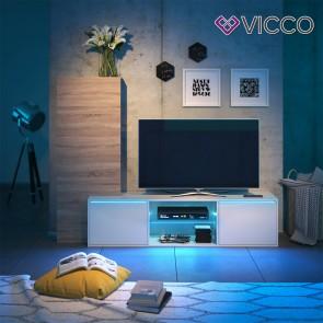 VICCO Wohnwand ITALY LED