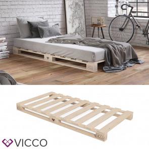 VICCO Palettenbett 90x200