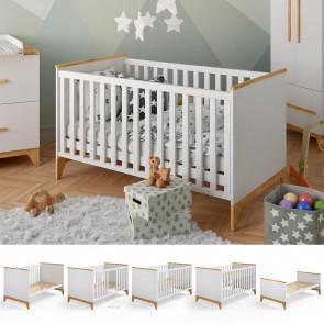VITALISPA Baby- und Kinderbett MALIA weiß
