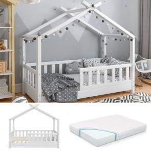 VITALISPA Hausbett DESIGN 70x140cm + Matratze