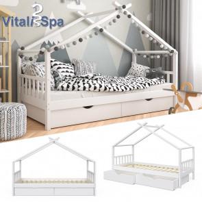 VITALISPA Kinderbett DESIGN weiß