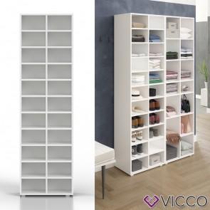 VICCO Schuhschrank PARIS Weiß
