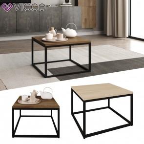 VICCO Loft Couchtisch MALIBU 60x60