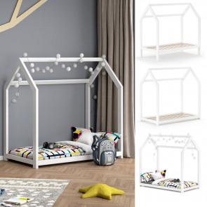 VITALISPA Kinderbett WIKI 70x140 cm weiß