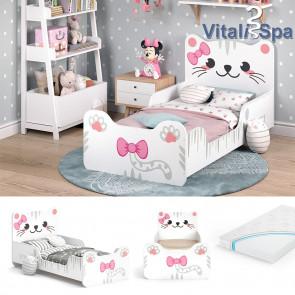 VITALISPA Kinderbett IZZY mit Matratze
