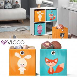 VICCO Faltbox Hase Nilpferd