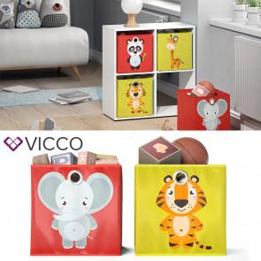 VICCO Faltbox Elefant Tiger