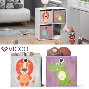 VICCO Faltbox Löwe Krokodil