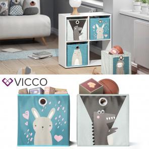 VICCO Faltbox Hase Krokodil