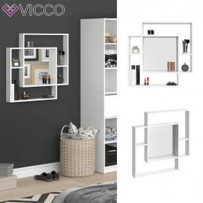 VICCO Spiegel Lino weiß