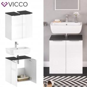VICCO Waschtischunterschrank OTIS Weiß