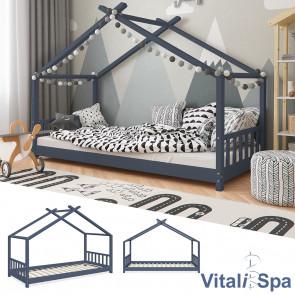 VITALISPA Kinderbett DESIGN Anthrazit 90x200cm