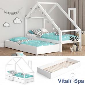 VITALISPA Funktionsbett Kinderbett NICOLE 90x200 mit Bettschublade