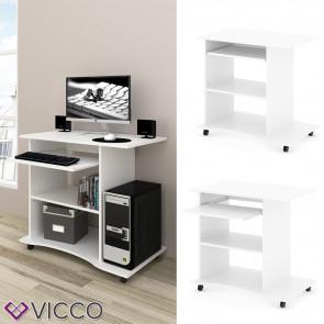 VICCO Computertisch Harm Weiß