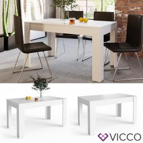VICCO Esszimmertisch CONNOR 140 x 80 cm