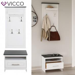 VICCO Garderobe TINO Kiefer