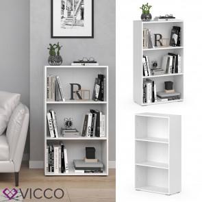 VICCO Bücherregal EASY M Weiß