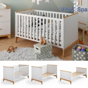 VITALISPA Babybett Malia + Matratze