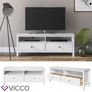 VICCO TV Lowboard HANNES Massivholz