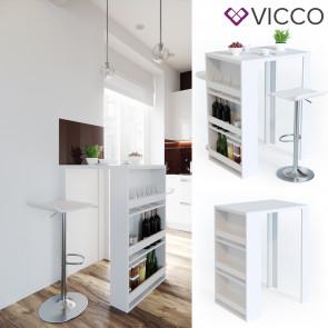 VICCO Bartisch weiß