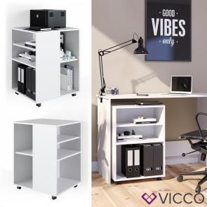 Vicco Rollcontainer für Schreibtisch Weiß