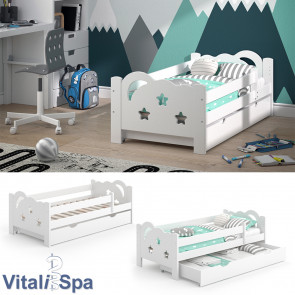 VitaliSpa Kinderbett Sari 140x70cm weiß