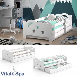 VitaliSpa Kinderbett Sari 160x80cm weiß