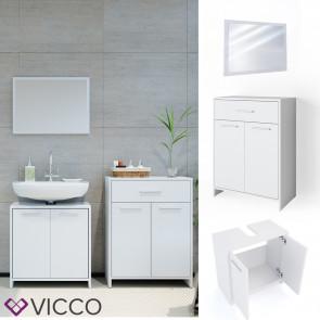 VICCO Badmöbel Set 5 KIKO Weiß