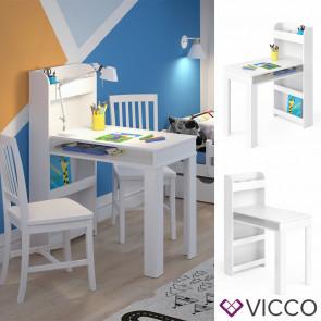 Vicco Kinder Maltisch Livia Weiß
