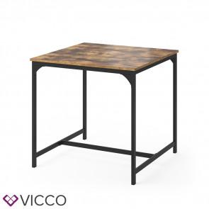 Vicco Esstisch Küchentisch 80x80cm Fyrk Esszimmertisch Kaffeetisch Metallgestell