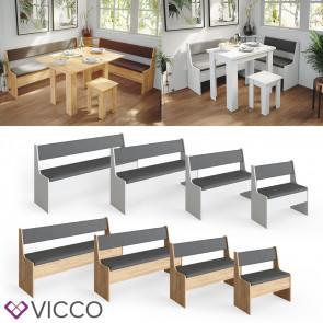 Vicco Eckbankgruppe Küchenbank Roman Sitzbank