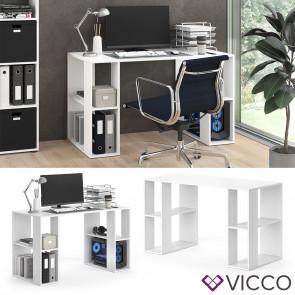 Vicco Schreibtisch Arian Weiß