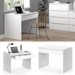 Vicco Schreibtisch Ruben klein Weiß