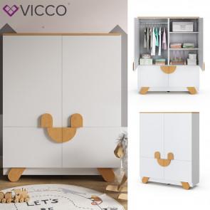 Vicco Kinder Kleiderschrank Compo-Serie