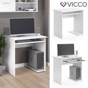 Vicco Computertisch Nick Weiß