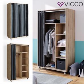 VICCO mobiler Kleiderschrank DOROS Sonoma